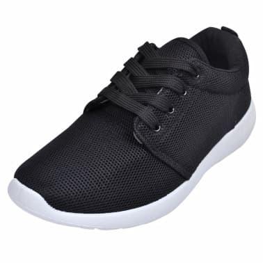 Shop Løbesko til kvinder med snørrebånd, sort, størrelse 39