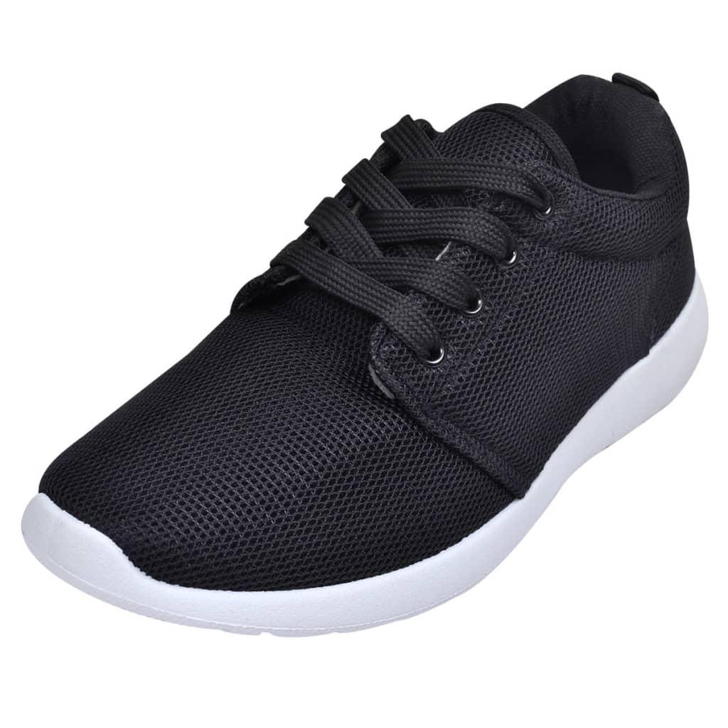 Dámské běžecké boty s tkaničkami černá barva velikosti 41 bbe54661359