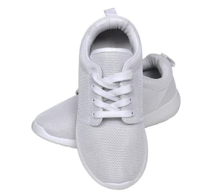 Sportschoenen met veters voor dames wit (maat 38)