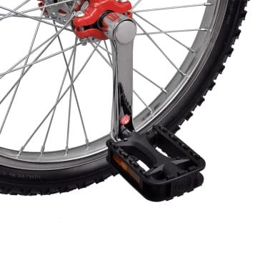 Monocycle ajustable rouge[4/4]