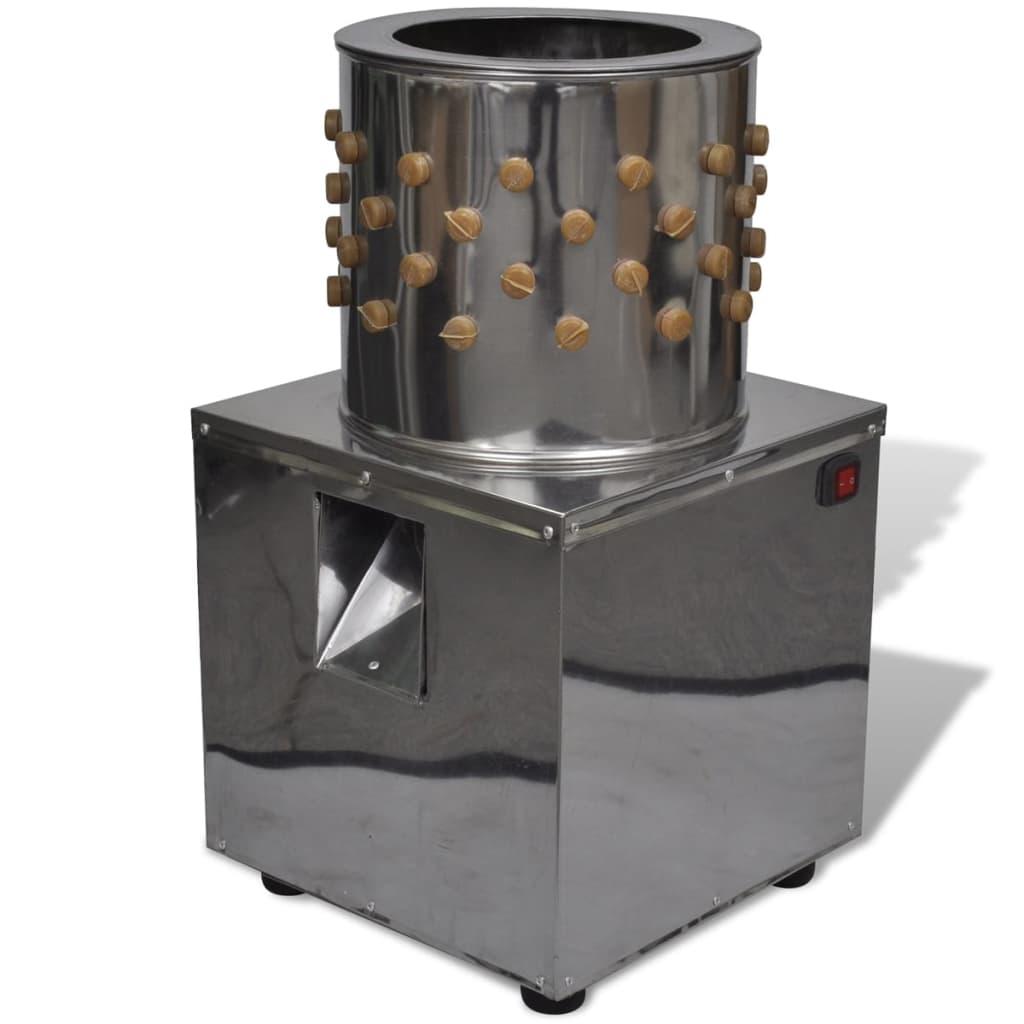Deplumator electric cu 98 de degete deplumatoare 27 cm 180 W imagine vidaxl.ro