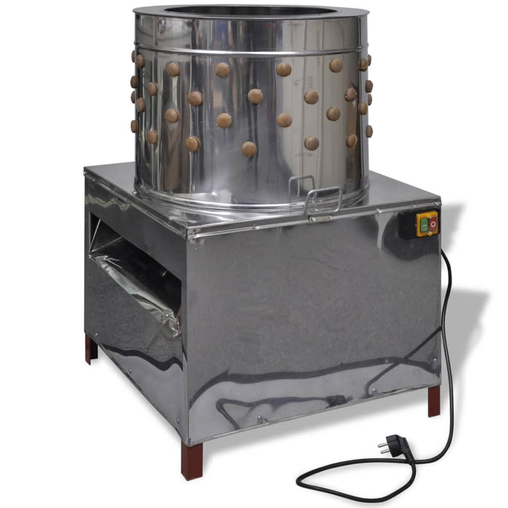 Deplumator electric pentru păsări cu 91 degete 50 cm 1500 W imagine vidaxl.ro