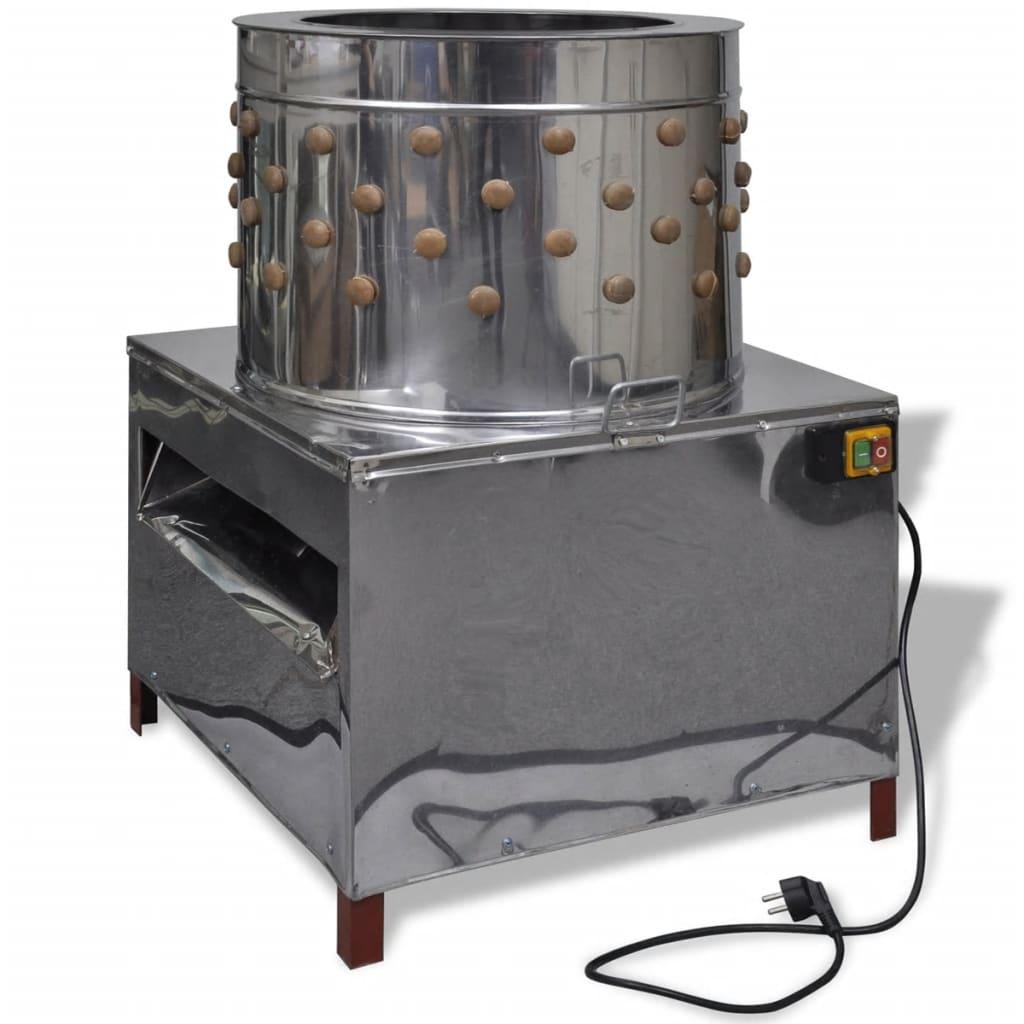 Deplumator electric cu 129 degete deplumatoare 58 cm, 2200 W imagine vidaxl.ro