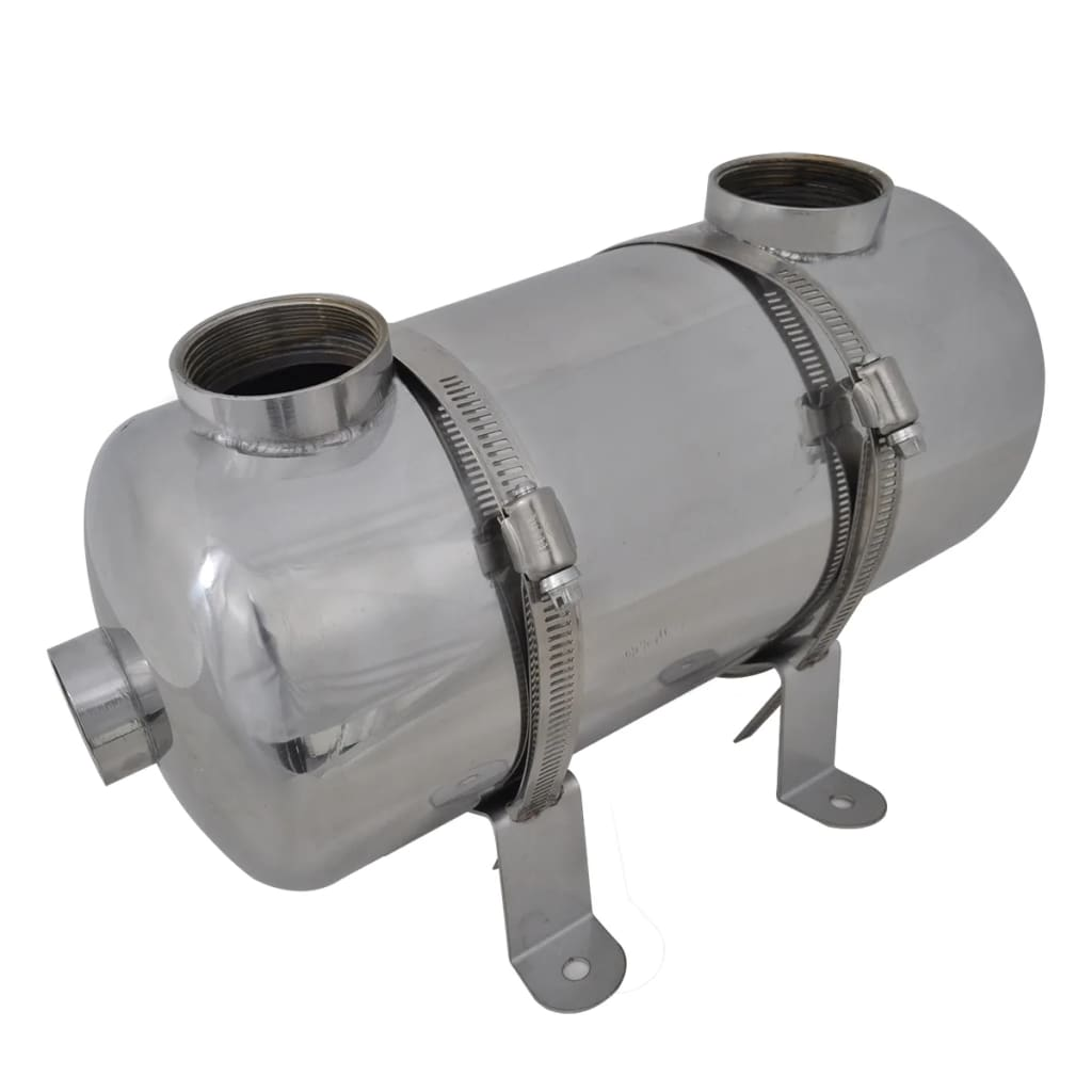 Basseini soojusvaheti 355 x 134 mm 40 kW