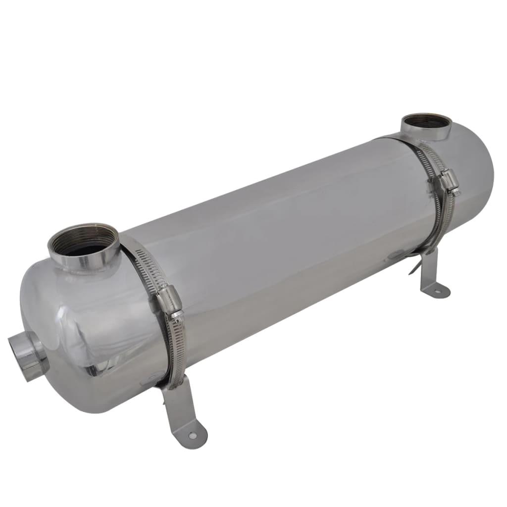 Výměník tepla pro bazén 613 x 134 mm 75 kW