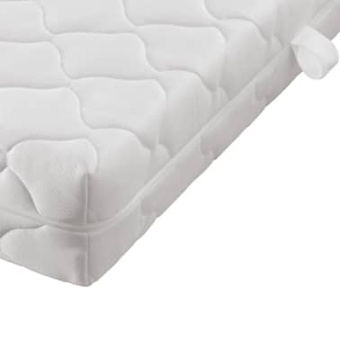 kunstlederbett mit fu matratze obermatratze schwarz wei 180x200 cm g nstig kaufen. Black Bedroom Furniture Sets. Home Design Ideas