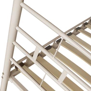 metallbett wei memory matratze memory obermatratze 140 cm zum schn ppchenpreis. Black Bedroom Furniture Sets. Home Design Ideas