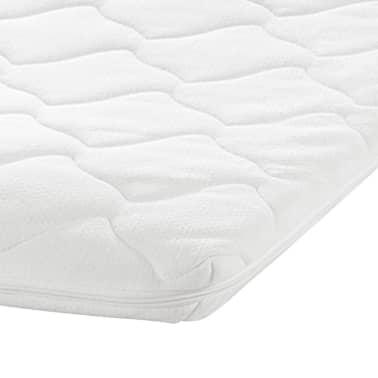 kunstlederbett memory schaum matratze obermatratze schwarz 140 cm zum schn ppchenpreis. Black Bedroom Furniture Sets. Home Design Ideas