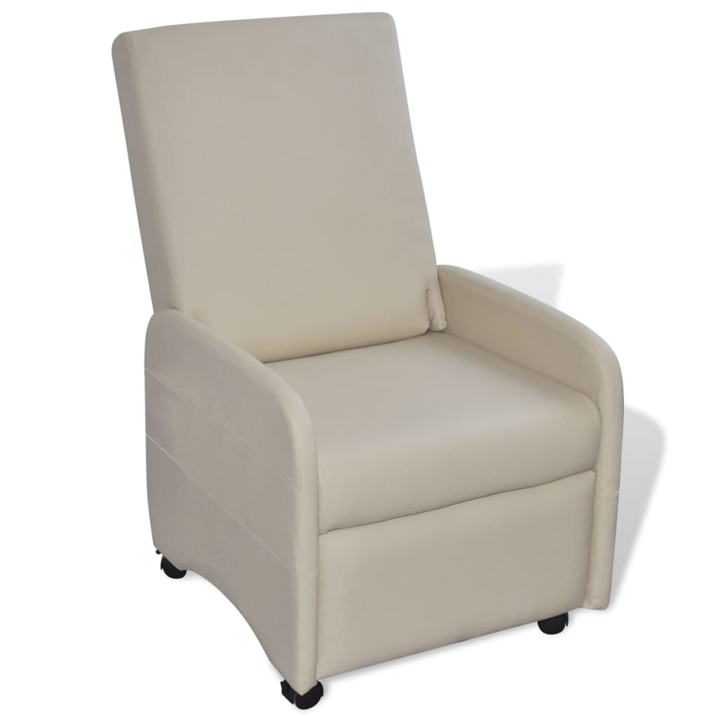 vida-xl-cream-foldable-recliner-artificial-leather