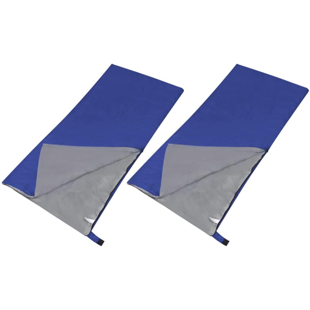 Sada 2 lehkých dekových spacích pytlů obdélníkových