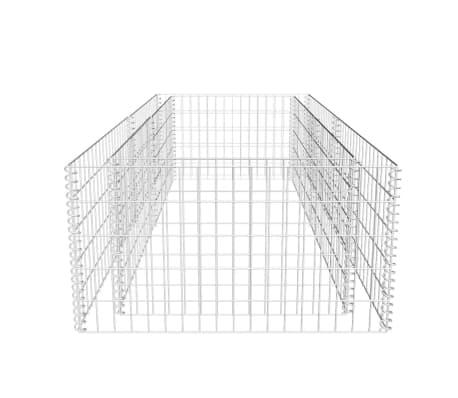 vidaXL Fioriera a Gabbione 180 x 90 x 50 cm[5/7]