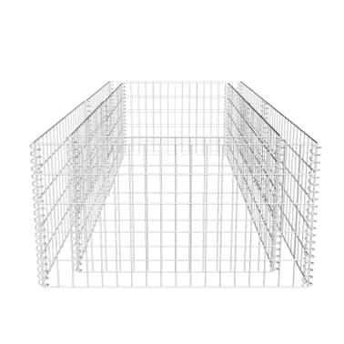 vidaXL Fioriera a Gabbione 180 x 90 x 50 cm[5/6]