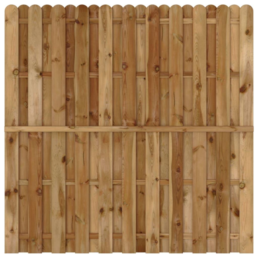 Panel za ogradu od borovine 180 x 180 cm