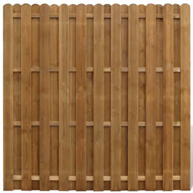 vidaXL Painel de vedação em madeira FSC vertical Hit & miss[1/3]