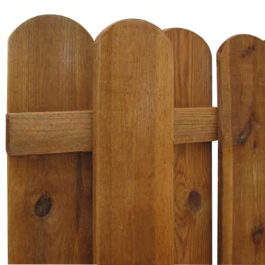 vidaXL Painel de vedação em madeira FSC vertical Hit & miss[3/3]