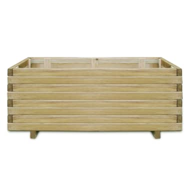 vidaXL Planter 100x50x40 cm FSC Wood Rectangular[2/4]