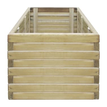 vidaXL Planter 100x50x40 cm FSC Wood Rectangular[3/4]