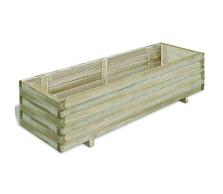 vidaXL Planter 120x40x30 cm FSC Wood Rectangular[1/4]