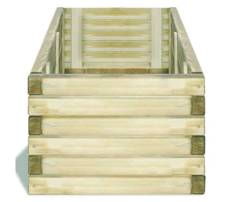 vidaXL Planter 120x40x30 cm FSC Wood Rectangular[3/4]