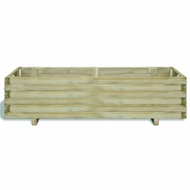 vidaXL Planter 120x40x30 cm FSC Wood Rectangular[2/4]