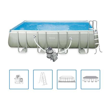 Intex Ultra Frame Zwembadset rechthoekig 549x274x132 cm 28352GN[1/6]