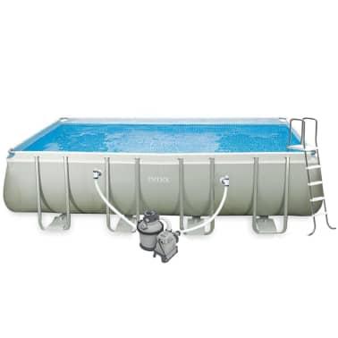Intex Ultra Frame Zwembadset rechthoekig 549x274x132 cm 28352GN[2/6]