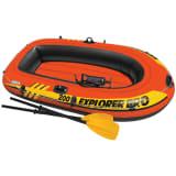 Intex Explorer Pro 200 Schlauchboot-Set mit Ruder und Pumpe 58357NP