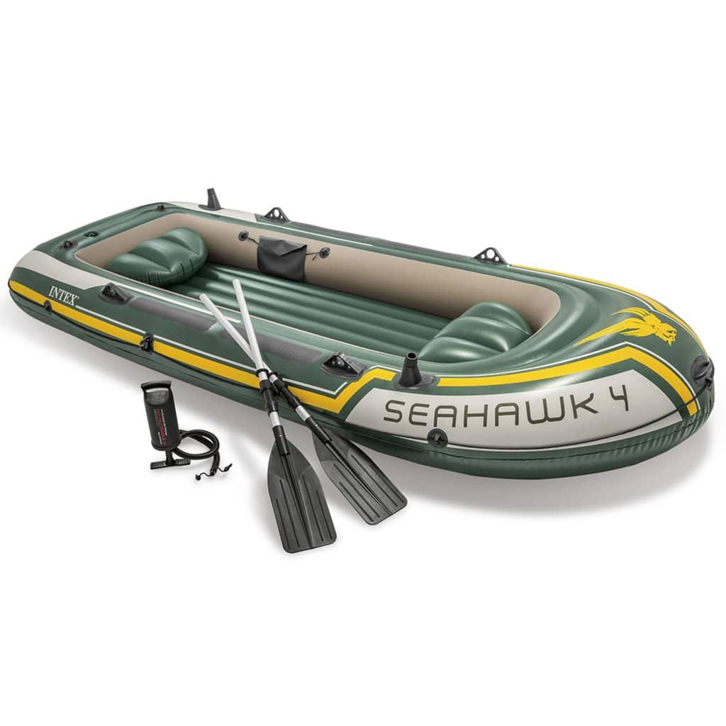 Intex Seahawk 4 Set Nafukovací člun s vesly a pumpou 68351NP