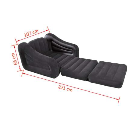 Intex 68565np poltrona letto gonfiabile per 1 persona - Poltrona letto gonfiabile ...