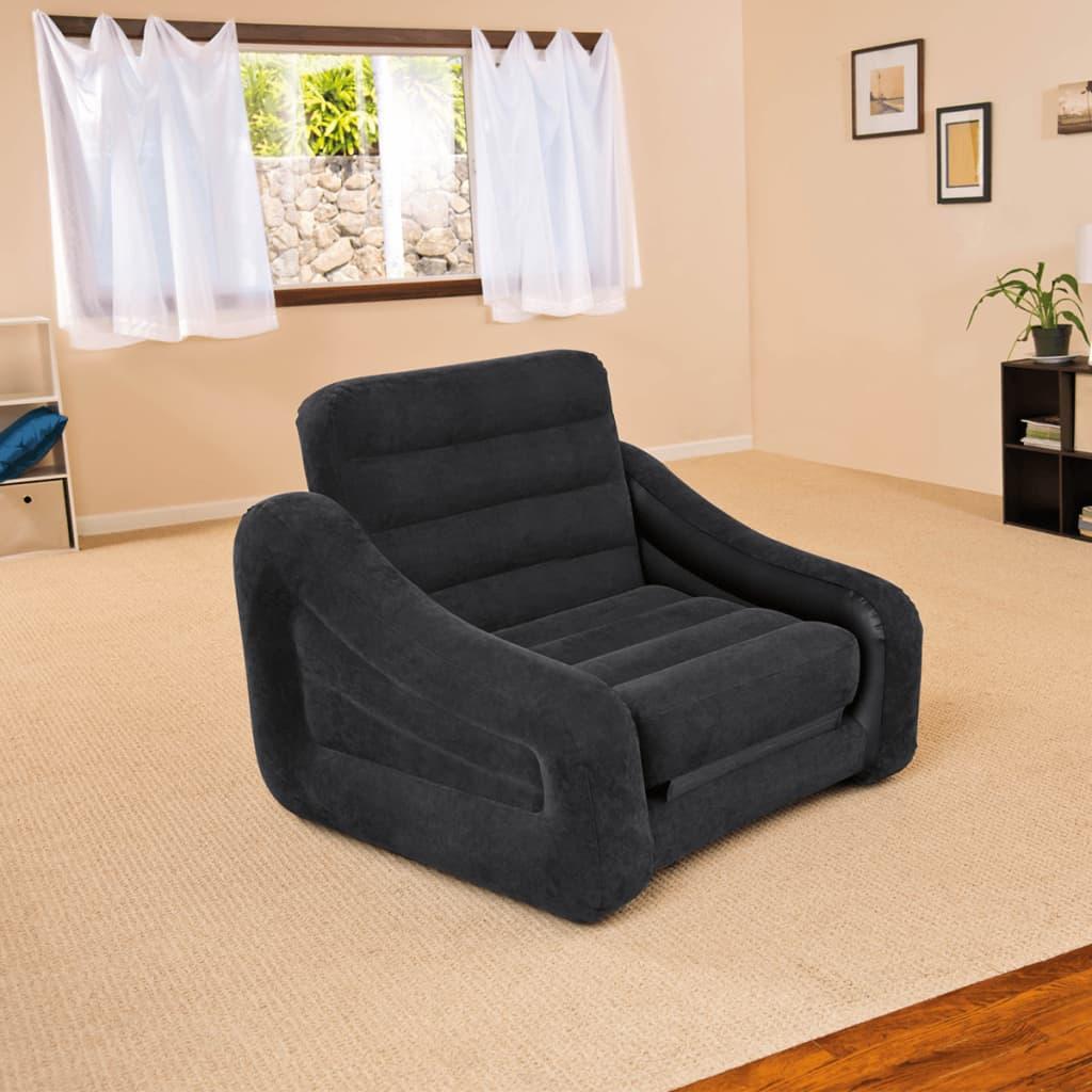 Intex Chaise / lit gonflable 107 x 221 x 66 cm 1 personne 68565NP