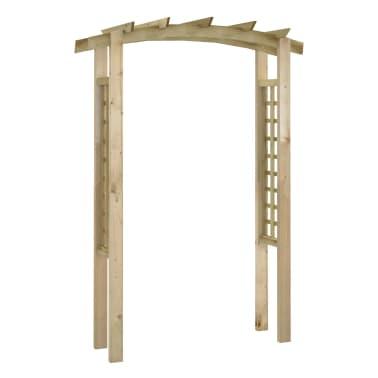 vidaXL Rozenboog latwerk 150x50x220 cm hout[1/4]