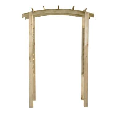 vidaXL Rozenboog latwerk 150x50x220 cm hout[2/4]