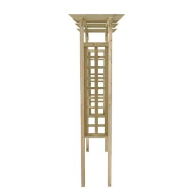vidaXL Rozenboog latwerk 150x50x220 cm hout[3/4]