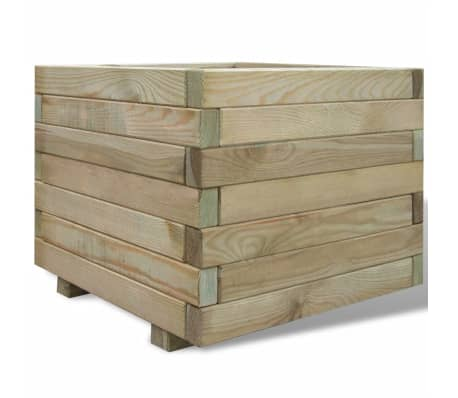 vidaXL Planter 50x50x40 cm FSC Wood Square[1/4]