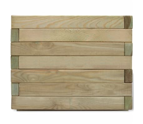 vidaXL Planter 50x50x40 cm FSC Wood Square[2/4]