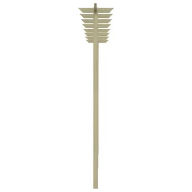 vidaXL Tuinpergola 400x40x205 cm FSC Hout[3/4]