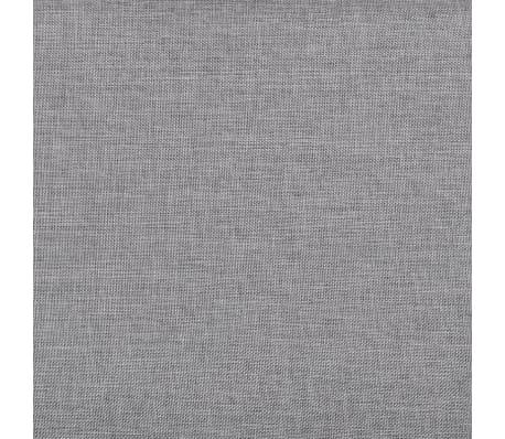 Vidaxl sillas de comedor 6 unidades de color gris claro for Sillas comedor color gris