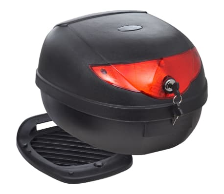 vidaXL Motorbike Top Case 36 L for Single Helmet