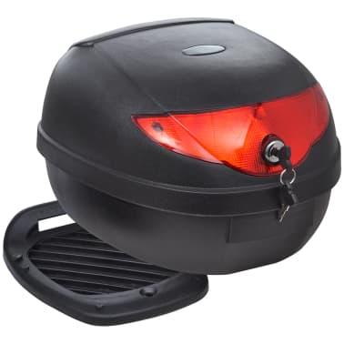 vidaXL Topkoffer voor motorfietsen 36 L voor 1 helm[1/7]