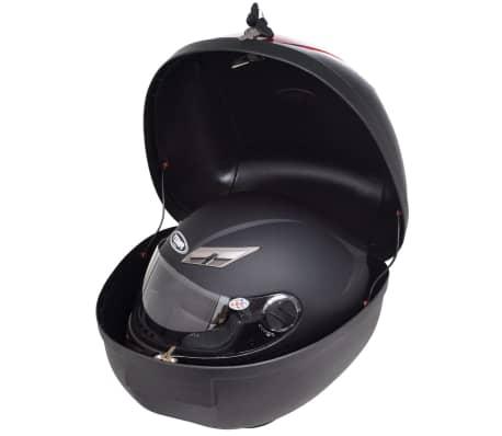 vidaXL Topkoffer voor motorfietsen 36 L voor 1 helm[2/7]