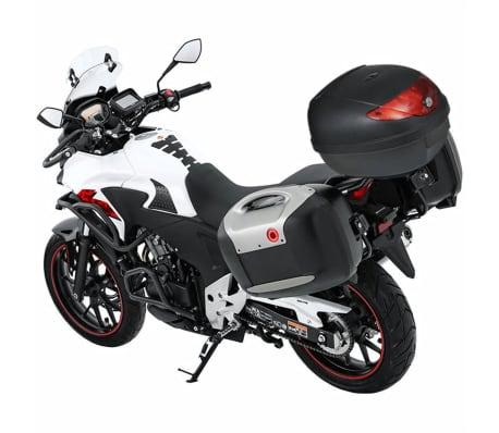 vidaXL Topkoffer voor motorfietsen 36 L voor 1 helm[3/7]