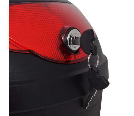 vidaXL Topkoffer voor motorfietsen 36 L voor 1 helm[4/7]
