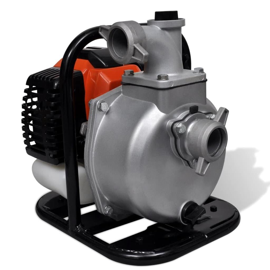 Pompă de apă pe benzină, 2 timpi, 1,25 kW 1,3 l poza vidaxl.ro