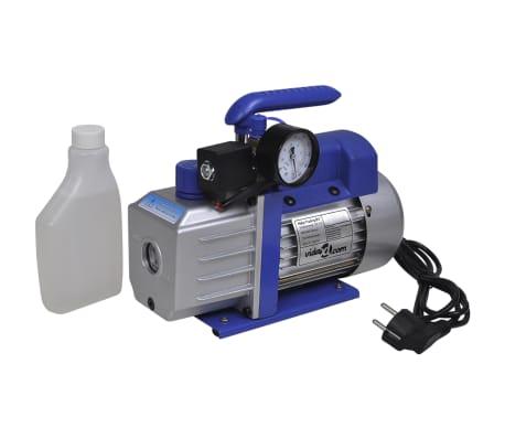 vidaXL Single-stage Vacuum Pump with Pressure Gauge 71 L / min[1/7]