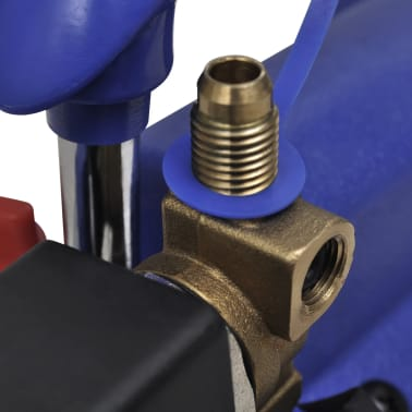 vidaXL Single-stage Vacuum Pump with Pressure Gauge 71 L / min[4/7]