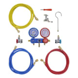 vidaXL 2-way Manifold Gauge Set in Tool Kit