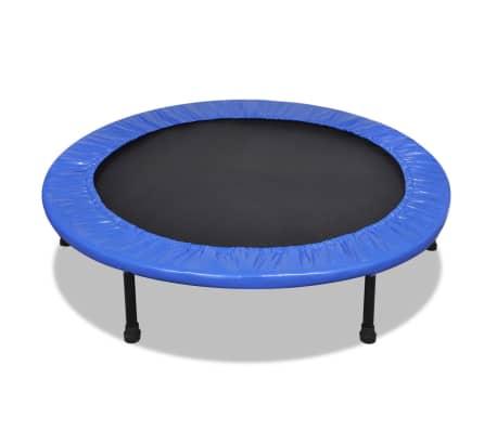 acheter mini trampoline pliable 114 cm pas cher. Black Bedroom Furniture Sets. Home Design Ideas
