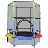 Trampolin sa sigurnosnom mrežom 140 cm