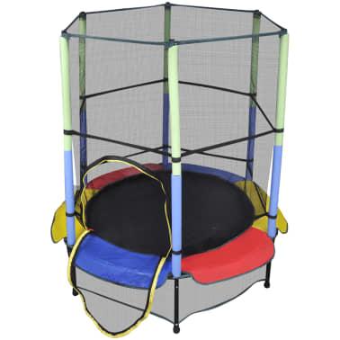 acheter trampoline 140 cm avec filet de s curit pas cher. Black Bedroom Furniture Sets. Home Design Ideas