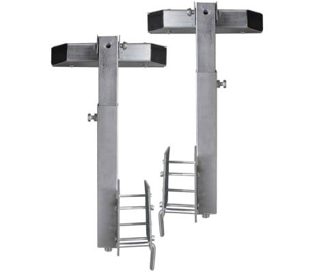 "Boat Trailer Solid Bar Bow Support Set of 2 2' - 2' 10""[5/5]"